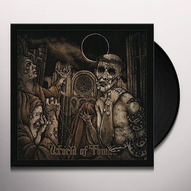 HORNED ALMIGHTY WORLD OF TOMBS Vinyl Record