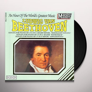 Ludwig van Beethoven MASTERPIECES OF Vinyl Record