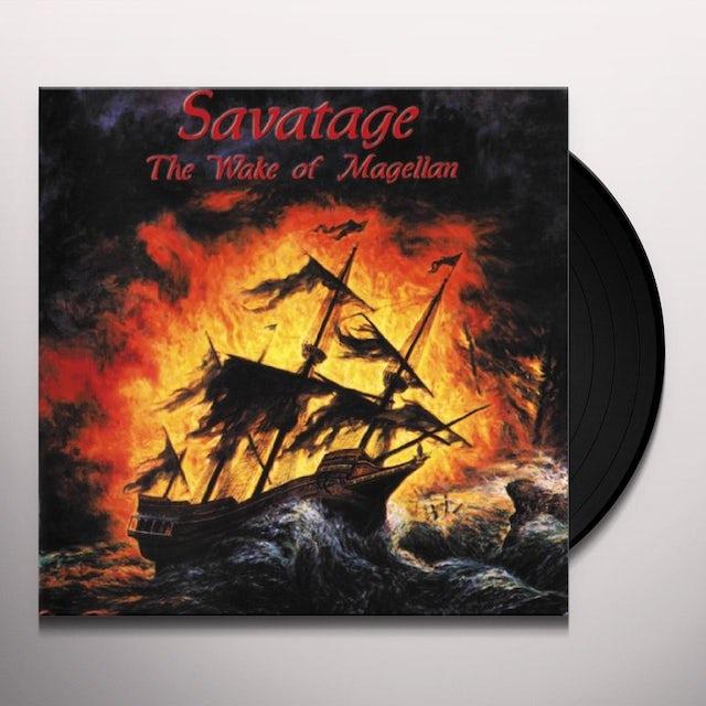 Savatage WAKE OF MAGELLANAE Vinyl Record