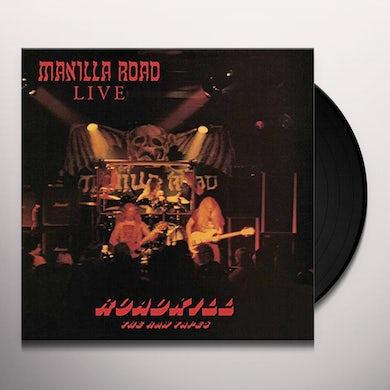 Manilla Road ROADKILL: RAW TAPES (OXBLOOD VINYL) Vinyl Record