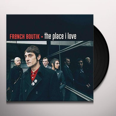 PLACE I LOVE (FRENCH BOUTIK & POPINCOURT CHANTENT) Vinyl Record