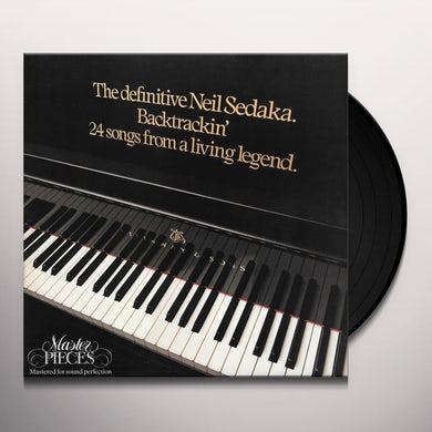 Neil Sedaka BACKTRACKIN 24 SONGS FROM A LIVING LEGEND Vinyl Record