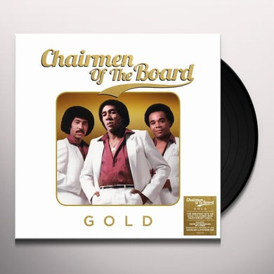 GOLD Vinyl Record