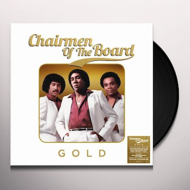Chairmen Of The Board GOLD Vinyl Record