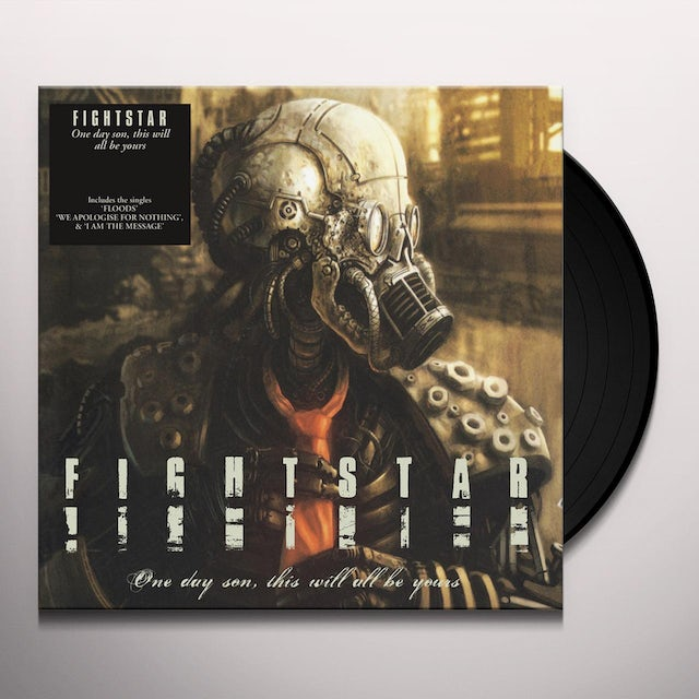 Fightstar ONE DAY SON THIS WILL BE YOURS Vinyl Record