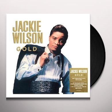 Jackie Wilson GOLD Vinyl Record