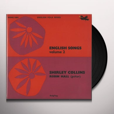 Shirley Collins ENGLISH SONGS 2 Vinyl Record