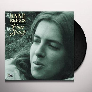 Anne Briggs FOUR SONGS Vinyl Record