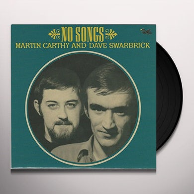 Martin Carthy NO SONGS Vinyl Record