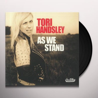 Tori Handsley AS WE STAND Vinyl Record