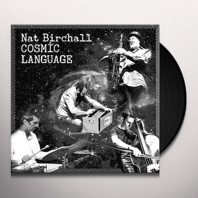 Nat Birchall COSMIC LANGUAGE Vinyl Record