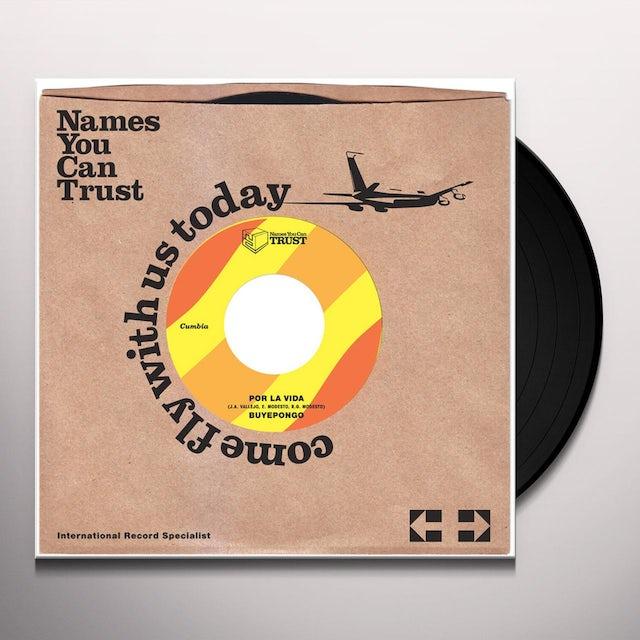 Buyepongo POR LA VIDA Vinyl Record