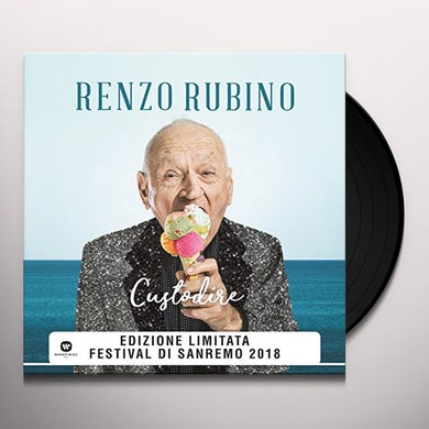 Renzo Rubino CUSTODIRE Vinyl Record