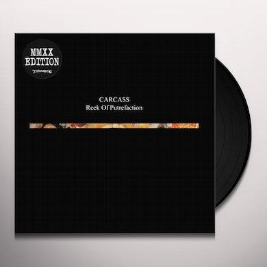 Carcass REEK OF PUTREFACTION Vinyl Record