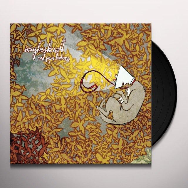 Maybeshewill RED PAPERLANTERNS Vinyl Record
