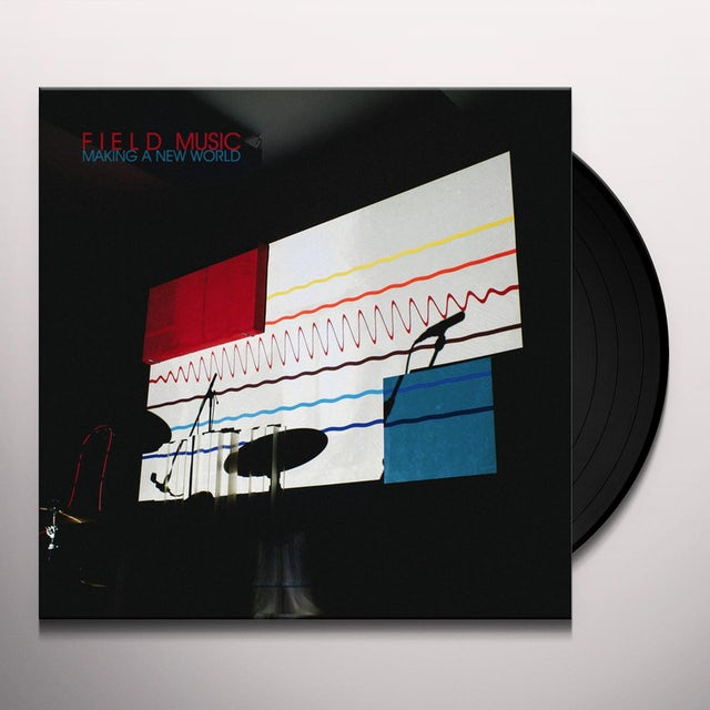 Field Music MAKING A NEW WORLD Vinyl Record