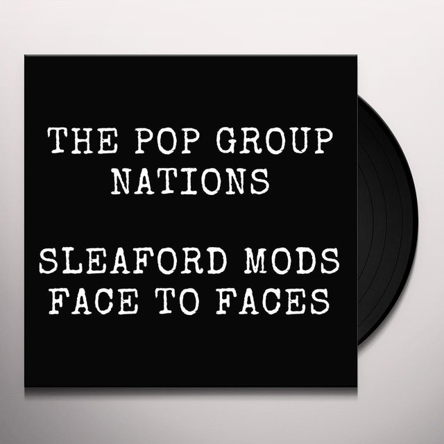 POP GROUP / SLEAFORD MODS Vinyl Record