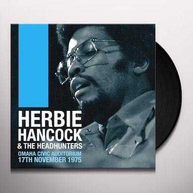 Herbie Hancock OMAHA CIVIC AUDITORIUM 17TH NOVEMBER 1975 Vinyl Record
