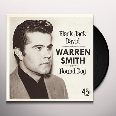 Warren Smith BLACK JACK DAVID Vinyl Record