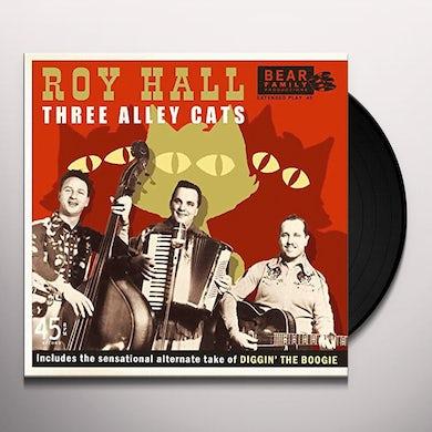 Roy Hall THREE ALLEY CATS Vinyl Record