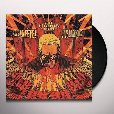 Leather Nun VIVE LA FETE! VIVE LA RIVOLUTION Vinyl Record