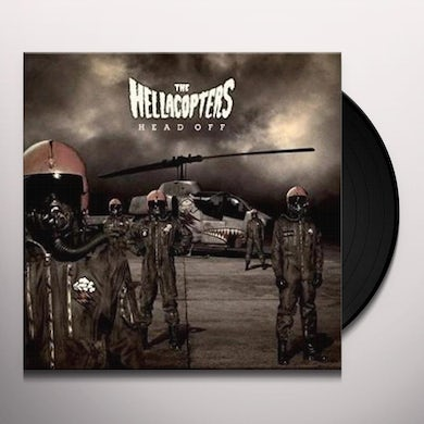 HELLACOPTER HEAD OFF Vinyl Record