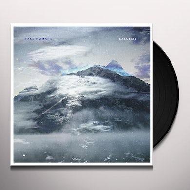 Fake Humans EXEGESIS Vinyl Record