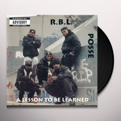 RBL Posse LESSON TO BE LEARNED Vinyl Record