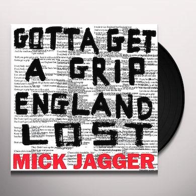 Mick Jagger GOTTA GET A GRIP / ENGLAND LOST Vinyl Record