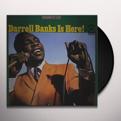 Darrell Banks IS HERE Vinyl Record