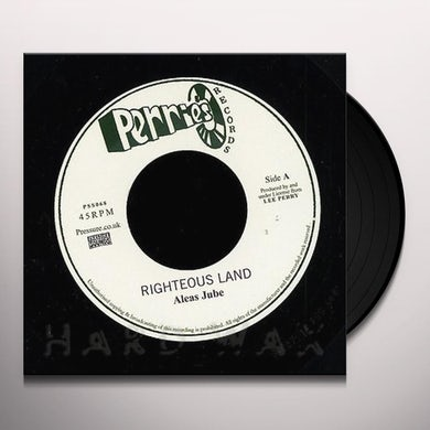 Aleas Jube / Upsetters RIGHTEOUS LAND / RIGHTEOUS ROCKING Vinyl Record