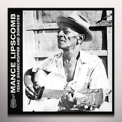 Mance Lipscomb TEXAS SHARECROPPER & SONGSTER Vinyl Record