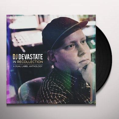 DJ Devastate IN RECOLLECTION: DUAL LABEL ANTHOLOGY (2012-2018) Vinyl Record