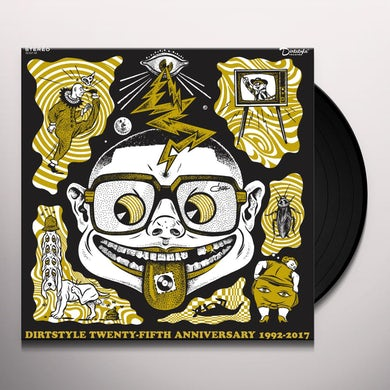 DJ Qbert DIRTSTYLE 25TH ANNIVERSARY Vinyl Record