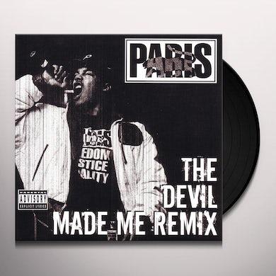Paris DEVIL MADE ME DO IT Vinyl Record