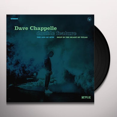 Dave Chappelle AGE OF SPIN & DEEP IN THE HEART OF TEXAS Vinyl Record