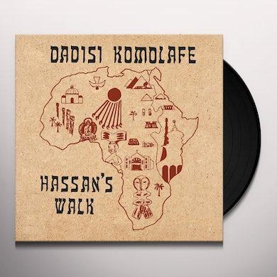 Dadisi Komolafe HASSAN'S WALK Vinyl Record
