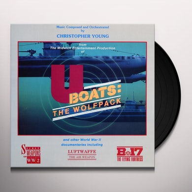 U-BOATS: THE WOLFPACK AND OTHER DOCUMENTARIES Vinyl Record