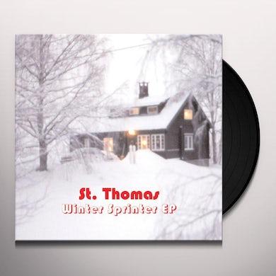 St Thomas WINTER SPRINTER (EP) Vinyl Record
