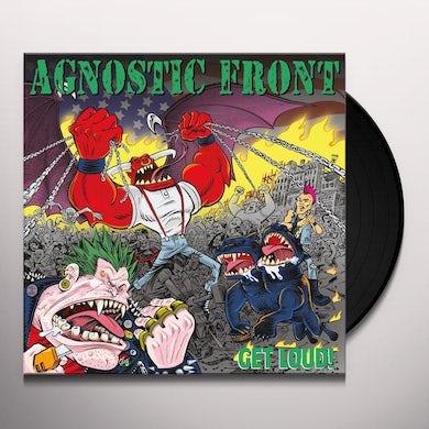 Agnostic Front GET LOUD Vinyl Record
