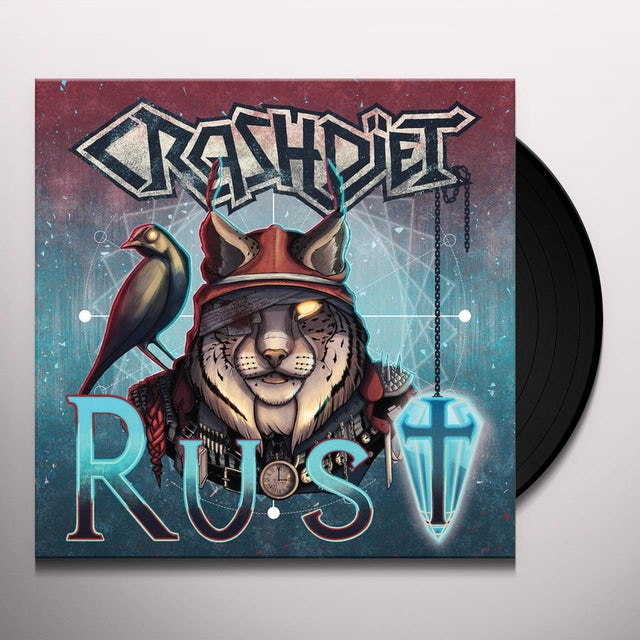 Crashdiet RUST Vinyl Record