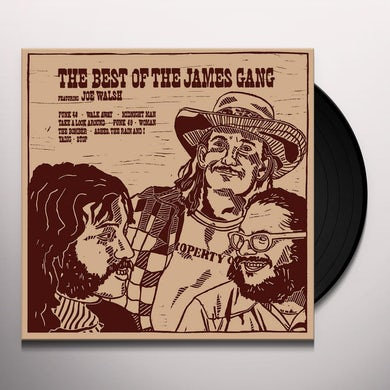 BEST OF THE JAMES GANG Vinyl Record