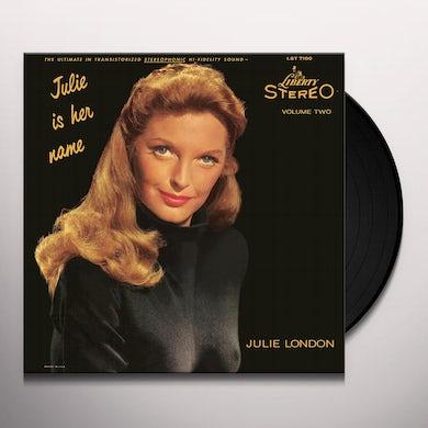 Julie London JULIE IS HER NAME VOL 2 Vinyl Record