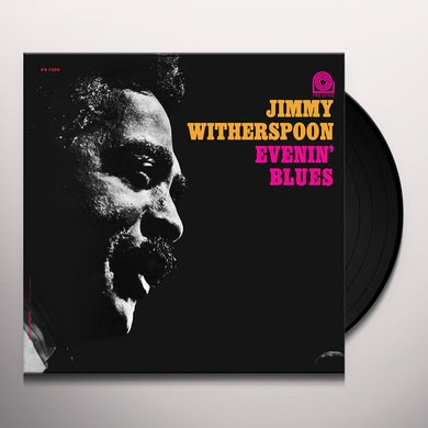 Jimmy Witherspoon EVENIN' BLUES Vinyl Record