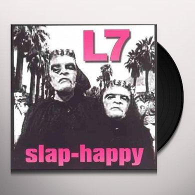 L7 SLAP-HAPPY Vinyl Record