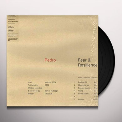 Pedro FEAR & RESILIENCE Vinyl Record