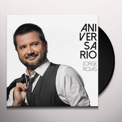 Jorge Rojas ANIVERSARIO Vinyl Record