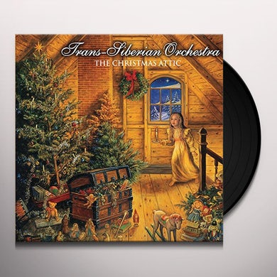 Trans-Siberian Orchestra CHRISTMAS ATTIC Vinyl Record