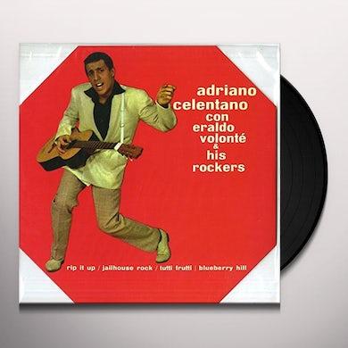 Adriano Celentano CON ERALDO VOLONTE & HIS ROCKERS Vinyl Record