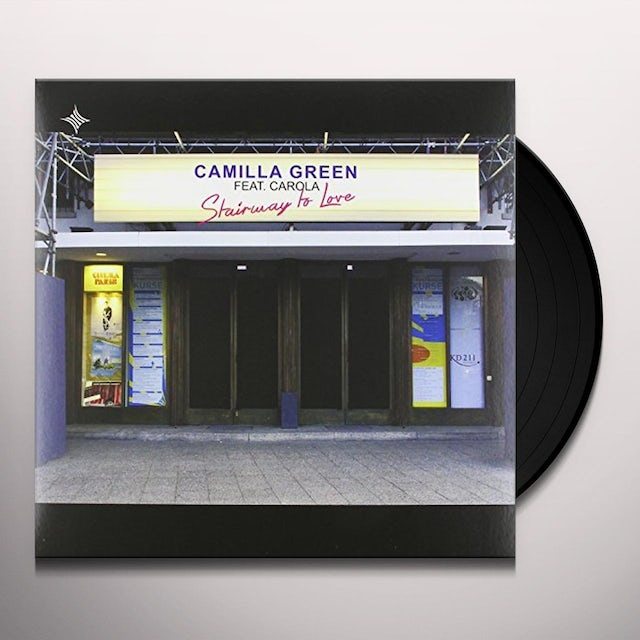 Camilla Green STAIRWAY TO LOVE Vinyl Record